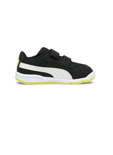 Puma Puma Stepfleex 2 Mesh Bebek Ayakkabı 19252514 19252514001 Siyah